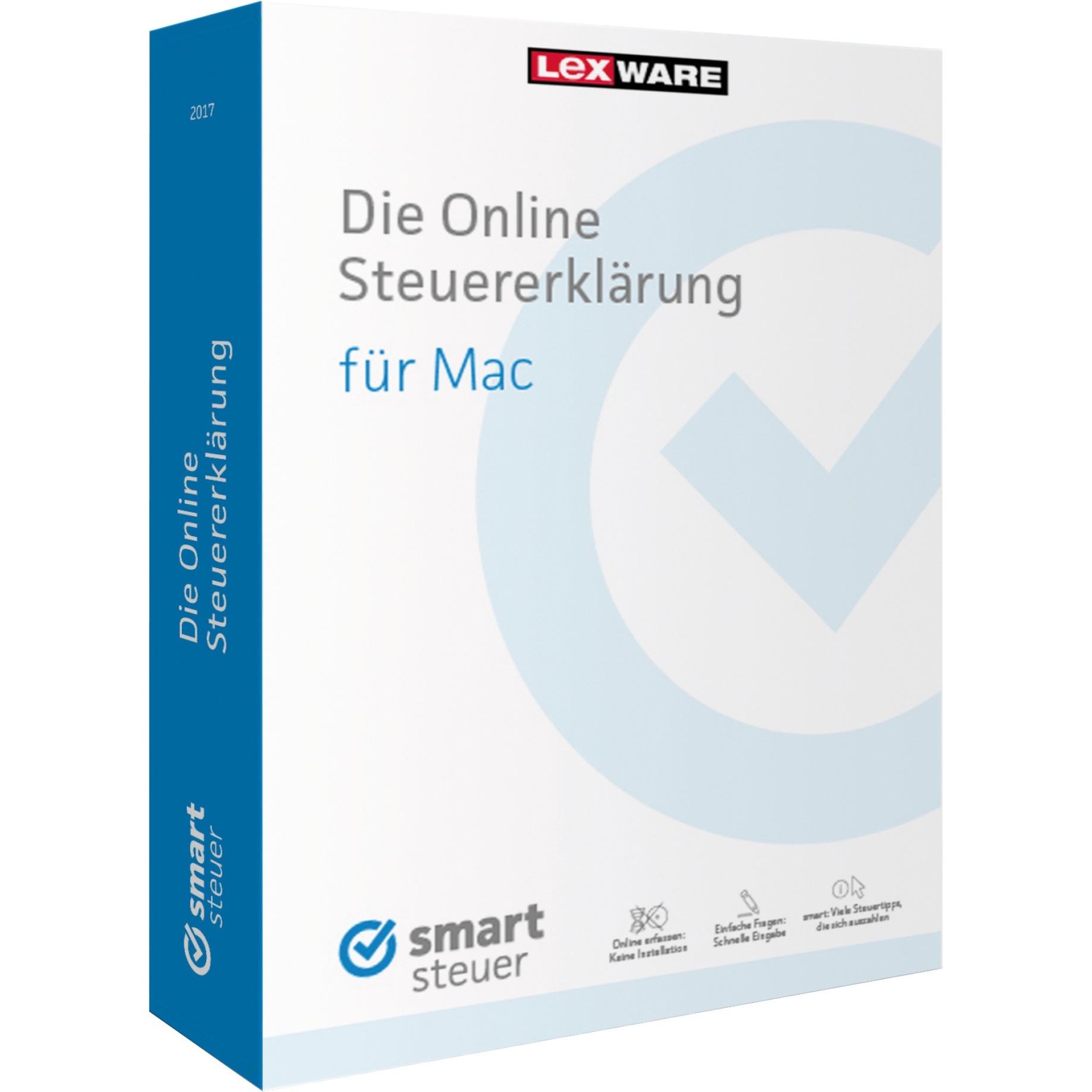 Lexware Smartsteuer Pro 2017 (MAC) DE Minibox jetztbilligerkaufen