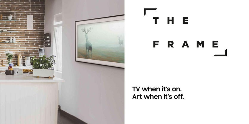 THE FRAME - TV when it's on. Art when it's off
