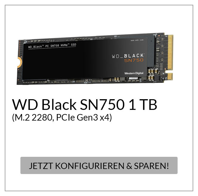 Black SN750 1 TB, Solid State Drive