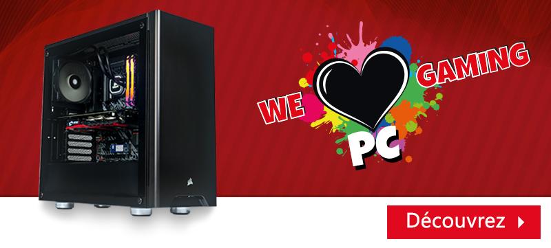 We Love Gaming Pc