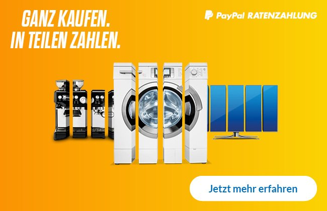 PayPal Ratenzahlung Kat-Startseite Redesign 2020